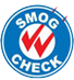 California Certified Smog Check Station logo
